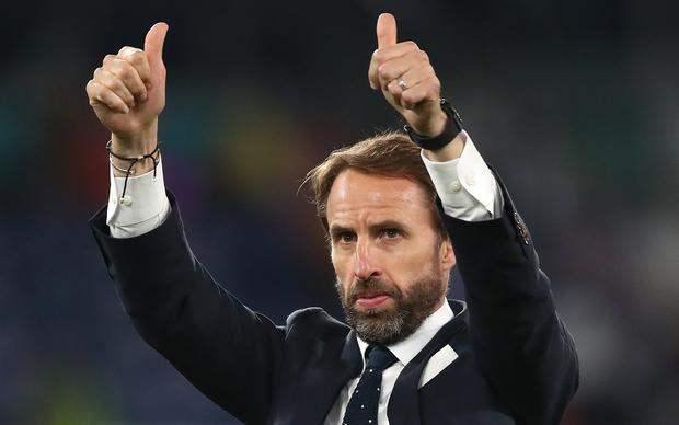 England manager Gareth Southgate hopes his side can write another piece of history by reaching the final (Nick Potts / PA)