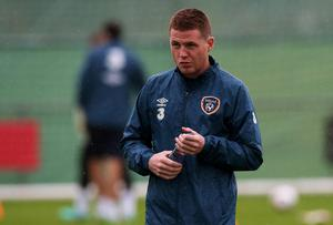 Ireland's James McCarthy is battling to be fit for Friday's clash against Scotland in his 'native' Glasgow