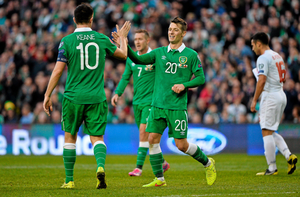 Wes Hoolahan and Robbie Keane will hope to link up