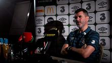 Roy Keane during a press conference