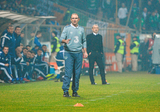 Manager Martin O'Neill is staying grounded after Ireland's positive score draw in Zenica on Friday night