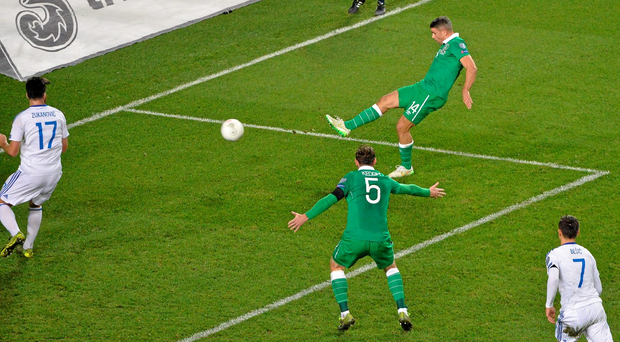 v Bosnia, November 16 'I was fouled for the free but I was never going to go off because it was a chance to get in the box.I'm normally the first man in at the near post but Robbie Brady told me to go around the back. I was unmarked, with nobody near me, and I didn't think about anything else apart from getting a clean shot on goal. It wasn't about picking a corner. Just hit a clean strike and get it on target.'