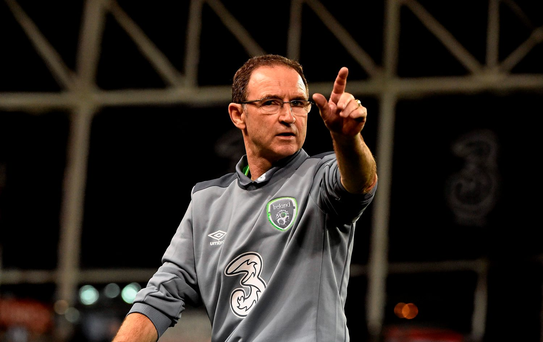 FIRED UP: Martin O'Neill