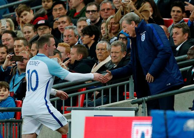 'Now 30, and the 111-cap elder statesman of Roy Hodgson's young squad, Rooney can reflect on five previous tournament experiences' Photo: AFP