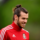 Gareth Bale: talking up Welsh chances. Photo: PA