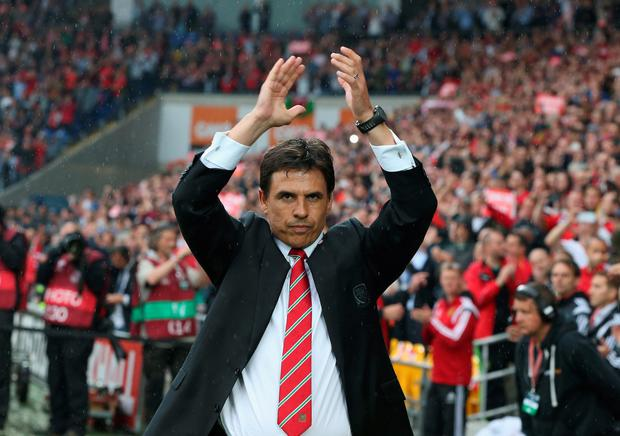 Chris Coleman took the Wales post after the death of Gary Speed. Picture credit: David Rogers/Getty Images