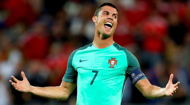 'Portugal have mostly been rigid but disciplined, with Ronaldo getting them to where they are'. Photo: PA