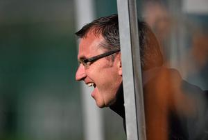 Shamrock Rovers manager Pat Fenlon watches on during Republic of Ireland squad training ahead of their game against Gibraltar