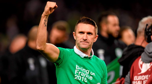 'Robbie is the person who has scored in World Cups, scored important goals all through his career. If he's not in the team he's one character you can rely on to be ready when he's called upon.'
