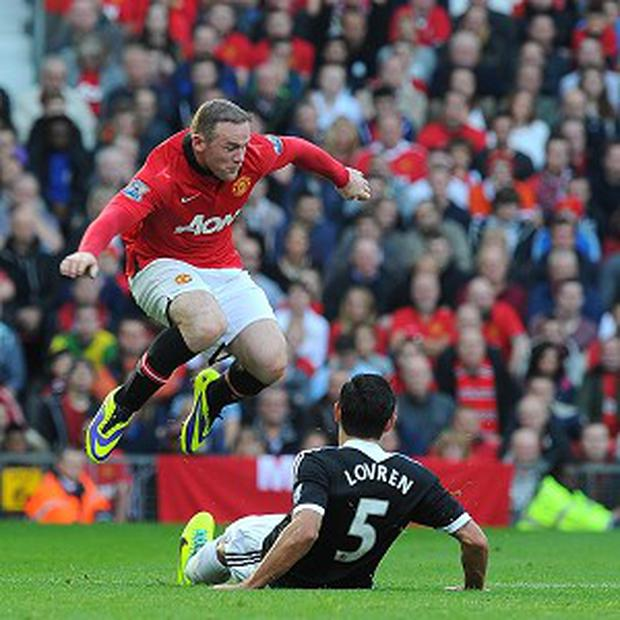 Wayne Rooney has been in great form for Manchester United this season