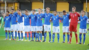 Alessandro Cannataro, fourth from right, will join Bournemouth's second string