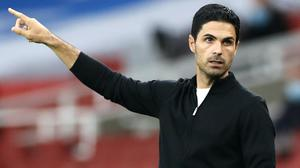 Mikel Arteta has been through highs and lows during his opening months in charge of Arsenal (Paul Childs/NMC Pool)