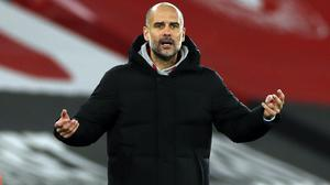 """Pep Guardiola labelled the win """"incredibly important"""" (Paul Childs/PA)"""