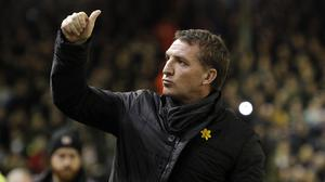 Brendan Rodgers has been tipped for the very top