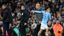 Brahim Diaz could be saying goodbye to Pep Guardiola (Mike Egerton/PA)
