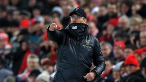 Liverpool manager Jurgen Klopp does not expect an easy ride in the title run-in (Peter Byrne/PA)