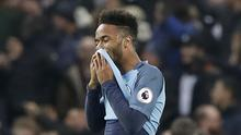 Raheem Sterling was controversially denied a penalty as Manchester City drew with Tottenham