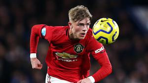 Manchester United's Brandon Williams is keen to help his club to glory after a fast rise (Nigel French/PA)