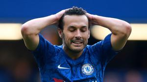 Chelsea striker Pedro has confirmed he will leave the club when his current contract expires (Adam Davy/PA)