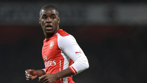 Joel Campbell, pictured, will spend the rest of the season at Villarreal, while Gabriel Paulista's move to Arsenal has been agreed in principle