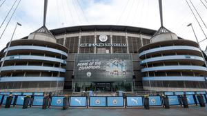 Part of the Etihad Stadium will be opened up to NHS for staff training (Martin Rickett/PA)