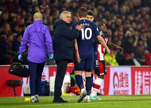 Harry Kane has not played since injuring his hamstring at Southampton on New Year's Day (Mark Kerton/PA)