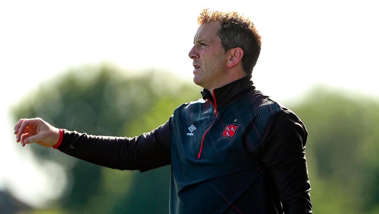 Dundalk manager Vinny Perth in the mix for Northern Ireland U-21 job after only a month back at Oriel Park