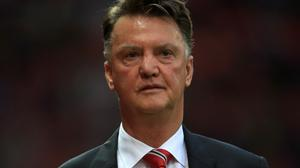 Louis van Gaal, pictured, admitted an approach from Wayne Rooney and Michael Carrick over the 'flat' dressing-room atmosphere