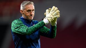 Republic of Ireland goalkeeping coach Dean Kiely: Photo: Stephen McCarthy/Sportsfile