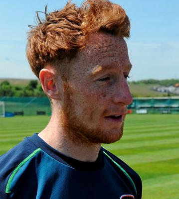 Stephen Quinn is hopeful that he will be given a start against Scotland