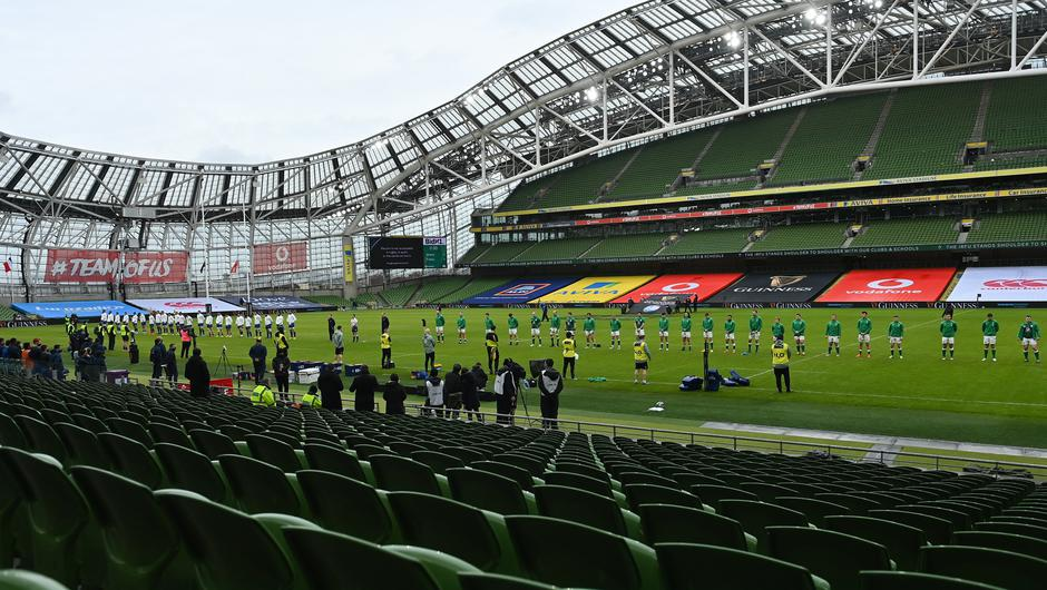 It's hoped that seats won't be empty at the Aviva Stadium for next summer's European Championship fixtures. Photo: Sportsfile