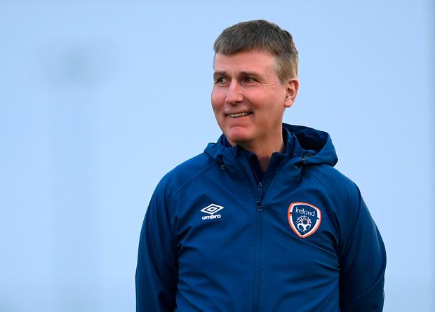 Ireland manager Stephen Kenny
