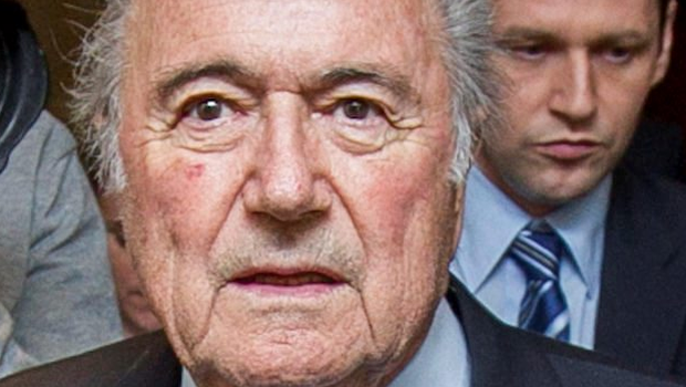 PAY-OFF: Sepp Blatter