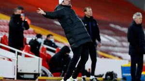 Jurgen Klopp intends to avail of the special dispensation given to clubs by FIFA to prevent players from travelling to red-list countries (Phil Noble/PA Wire).