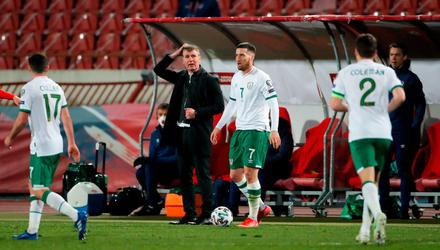 Ireland manager Stephen Kenny is still looking for his first win after nine games in charge. Image credit: Sportsfile.