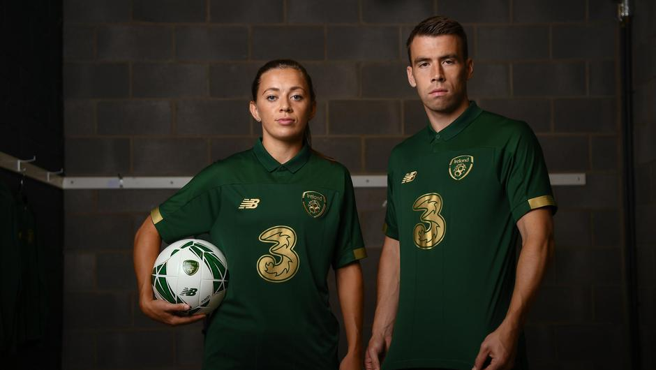 Ireland captains Katie McCabe and Séamus Coleman has welcomed the FAI's call to pay the Irish senior men's and women's team equal match fees