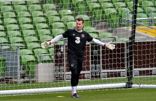 Shay Given is out of the Bosnia match