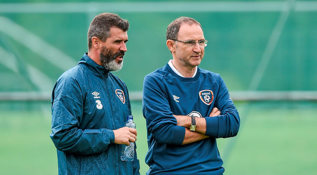 Roy Keane and Martin O'Neill both learned much of their trade from the time they spent working under Brian Clough Picture: Sportsfile