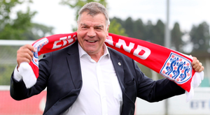 Sam Allardyce was officially unveiled as England manager at St George's Park