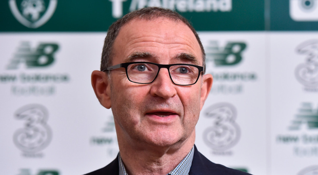 Republic of Ireland manager Martin O'Neill Photo: Sportsfile