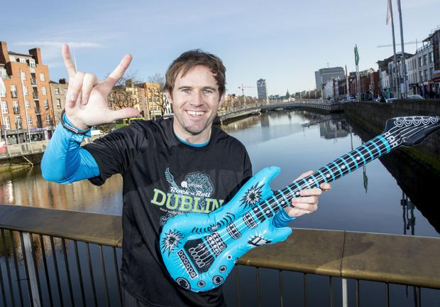 Kevin Kilbane at the launch of the Affidea Rock 'n' Roll Dublin Half Marathon which will take place on August 12.