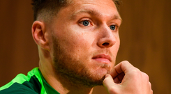 Hendrick admission: 'Each game is different, I've played in a few different positions, we've played some really hard opposition. I thought I did well in some games, in other games I've not done well' Photo: Sportsfile