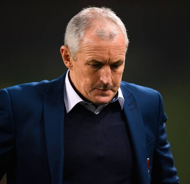 Results business: John Caulfield is planning for next season but says if his 'face doesn't fit then so be it'. Photo: Sportsfile