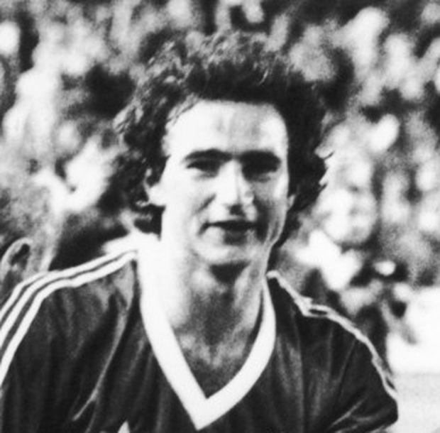 O'Neill celebrates Forest's 1980 European Cup success. Photo: Getty