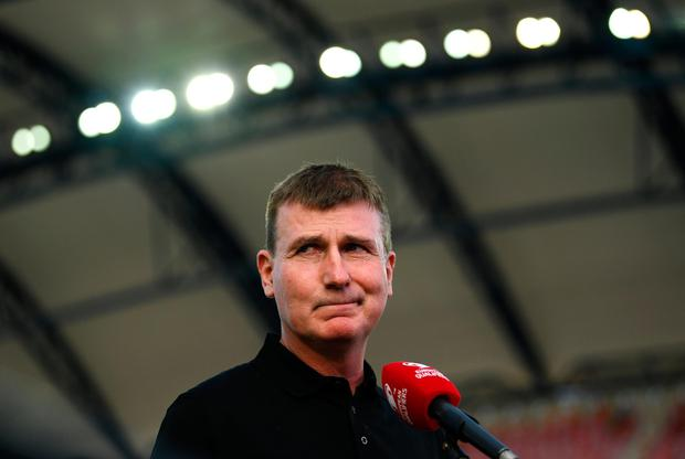 Ireland have improved under Stephen Kenny, but they need to start winning. Credit: Sportsfile