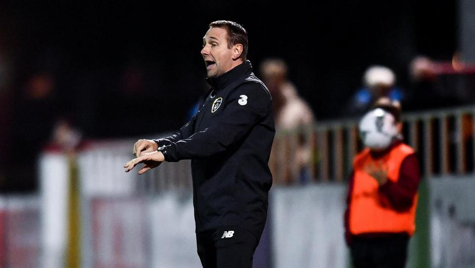 Republic of Ireland under-19 manager Tom Mohan. (Image: Sportsfile)