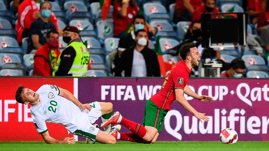 Ireland are hoping to get a clearer picture on Dara O'Shea's injury today. Photo: Sportsfile