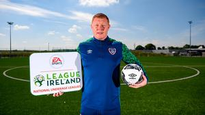 League of Ireland academy development manager Will Clarke during an EA SPORTS National Underage League Media Day at FAI Headquarters in Abbotstown, Dublin. Photo: Stephen McCarthy/Sportsfile