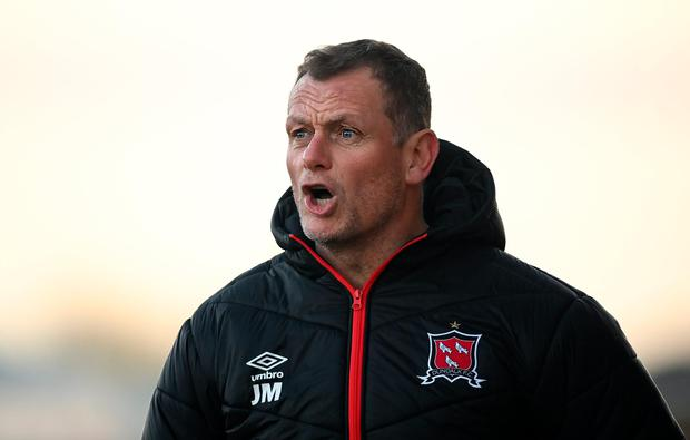 Jim Magilton wants his Dundalk players to 'earn the right' to play.