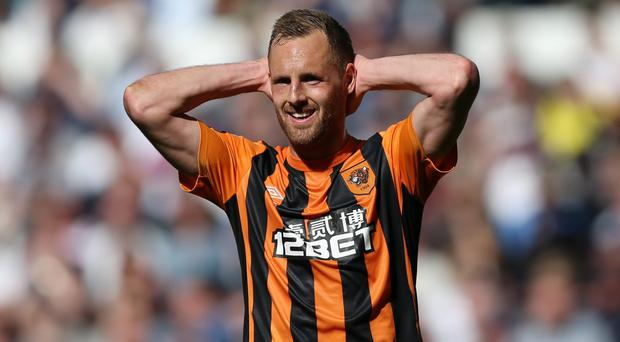 Hull's David Meyler: 'Pressure is for tyres'
